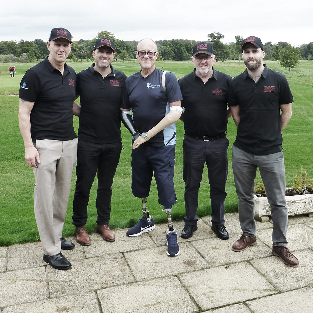 LPC Takes Part in Limbcare Charity Golf Day